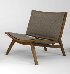 poltrona beca em madeira tauari - deguile móveis