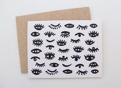 Eye Pattern Card