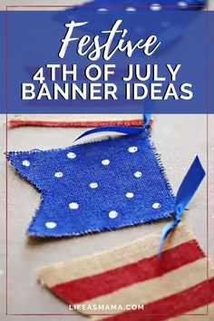 The 4th of July is always such a fun part of the summer. The parties, the fireworks, and the celebration! No party is complete without a cute banner! Life as Mama has 9 festive banner for the fourth of July. Tap the photo again to get your get together on point! #fourthofjuly #4thofjuly #summertime #celebration #partydecor July Holidays, Christmas In July, Patriotic Crafts, July Crafts, Patriotic Party, 4th Of July Photos, Fourth Of July, Painting Burlap, Easter Banner