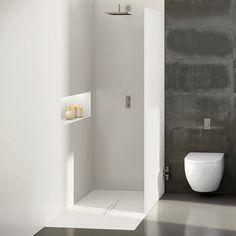 Ultra Modern Showers bathroom, square frameless corner glass shower doors and modern