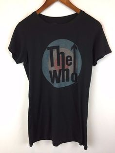 16687aecf2965 US  0.99 Size XL Vintage The Who T Shirt Size XL Tee W Rare 90s Rap Rock  Band Tour Tee FHC   eBay  second  hand  vintage  rare  clothes  pre  owned  ...