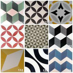 Geométrico #casa #home #azulejos #tiles #floor #walls #Spanish #Spain #geometric Floor Patterns, Tile Patterns, Tile Design, Pattern Design, Mediterranean Homes, Color Tile, Iphone Wallpaper, Gallery Wall, Flooring