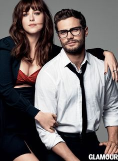 Here, flip through their sexy cover shoot, and to see more of Dakota and Jamie, pick up the March issue.