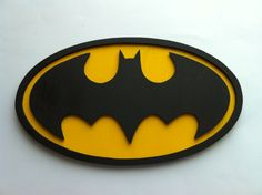 Hey, I found this really awesome Etsy listing at https://www.etsy.com/listing/156609160/batman-wood-logo-wall-art-sign