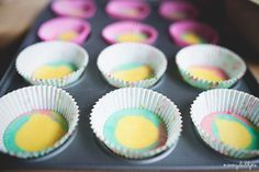 Rainbow Cupcakes Rainbow Cupcakes, How To Make Cake, The Ordinary, Daddy, In This Moment, Desserts, Food, Tailgate Desserts, Deserts