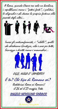Restituisci Roma ai Romani, vota Italia Reale | ITALIA REALE - Stella e Corona