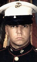 11-10-04= JUSTIN D. REPPUHN, 20, Hemlock, MI  USMC LCPL   while serving during Operation Iraqi Freedom. Assigned to 3rd Light Armored Reconnaissance Battalion, 1st Marine Division, I Marine Expeditionary Force, Camp Pendleton, California. Died of injuries sustained when an improvised explosive device detonated near his vehicle during combat operations in Fallujah, Anbar Province, Iraq.