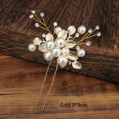 Bridal Hair Tiara, Bridal Hair Pins, U Shaped Hair, Crystal Beads, Crystals, Barrette Clip, Tiara Hairstyles, Hair Sticks, Wedding Hair Accessories