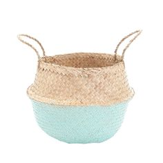 Belly Basket, Mint Dipped