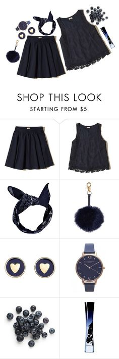 """Blue is my world now I'm without you"" by tsheena ❤ liked on Polyvore featuring Hollister Co., Boohoo, Brooks Brothers, Olivia Burton, Giorgio Armani, tsheena, tsheenaspread, onlyclothes and spreadset"