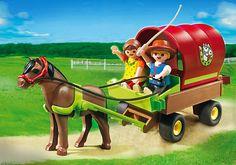 Enfants et chariot - PLAYMOBIL® France alexanne