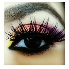 But tropical eye makeup is basically using eyeshadow to make a damn masterpiece. | Tropical Eyes Are The New Smokey Eyes And They're Mesmerizing