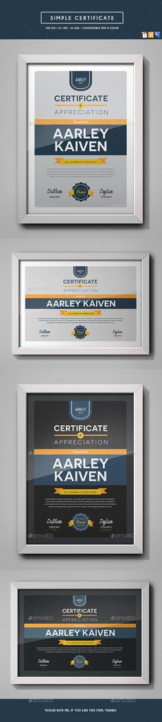 Gift Certificate Bundle Gift certificates, Print templates and - gift card certificate template