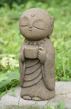 A Little Buddha that drinks coffee :-)