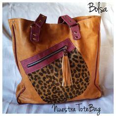 La Bolsa, una tote bag con Estilo @MUARCarteras Cuero y piel