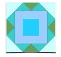 "Free Quilt Pattern: April Beg BOM 6""--This free quilt pattern is called ""April Beg BOM 6′"""