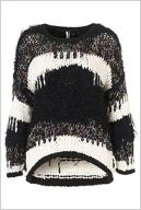 Knitted Native Mix Yarn Jumper