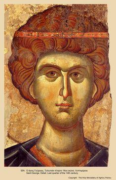 Orthodox Catholic, Catholic Art, Byzantine Icons, Byzantine Art, Religious Icons, Religious Art, Religious Paintings, Best Icons, Saint George