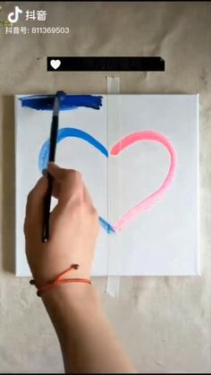 Diy acrylic painting ideas for home decoration! Simple Canvas Paintings, Small Canvas Art, Diy Canvas Art, Canvas Painting Tutorials, Diy Painting, Painting Videos, Art Painting Gallery, Cool Art Drawings, Art Sketches