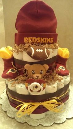 Redskins Picture Frame For Cake