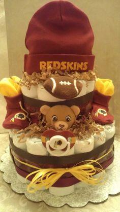 Redskins Diaper Cake
