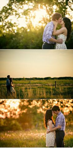 I like the simplicity of photos against a green background- definitely need to find a field of some sort like this!