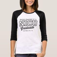 Proud Parent a NICU Graduate Women's T-Shirt