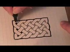 How to draw a Celtic Knot using a series of dots as a guideline.  Thanks to my calligraphic teacher Mark Van Stone who taught me this in the 70s.  Here is the link to Mark Van Stone's YT channel. Please check out his videos!    http://www.youtube.com/user/markvanstone2012