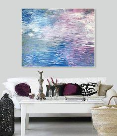 SONATA Original Abstract Modern Painting By Linneaheideart