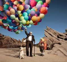 Your Heart Will Melt When You See How This Adorable Family Recreates UP | Oh My Disney | Awww
