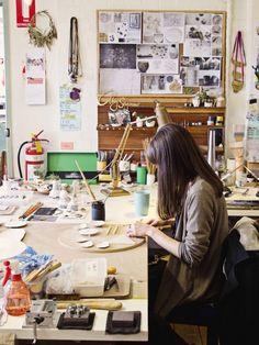 Abby Seymour - photograph + story Studio Home