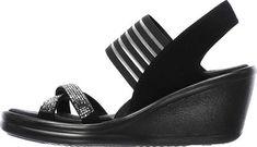 b100caca7813 Skechers Rumblers Modern Maze Wedge Sandal - Women s 5.5