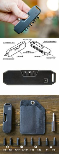 Big Idea Design BIT BAR EDC Everyday Carry Tool Gear in Grade 5 Titanium - Black @thistookmymoney #edc #everydaycarry
