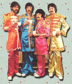 """The Rutles Tragical History Tour from """"Rutles - All You Need is Cash"""" Mockumentary.  Monty Python + 1977 cast of SNL + George Harrison + Mick Jagger + Ron Wood + Paul Simon...need I go on?  Watch it!  Now!"""