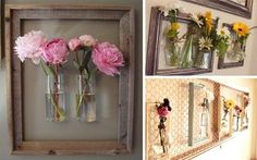 DIY Wallflowers