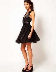 ASOS   ASOS Party Dress with Embellishment at ASOS