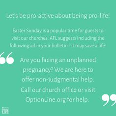 Church Office, Pro Life, Let It Be