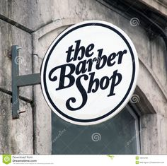 Barber Shop Sign - Download From Over 57 Million High Quality Stock Photos, Images, Vectors. Sign up for FREE today. Image: 18916769