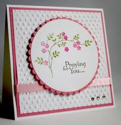 hand made sympathy card images - Google Search
