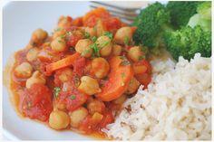 Snabblagad kikärtsgryta Här kommer ett supergott middagstips. En kikärtsgryta som är både snabb och enkel att laga. Vardagssnabbt och gott!