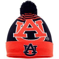 Auburn Tigers New Era NCAA Logo Whiz Knit Hat - Navy - $18.39