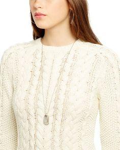 17b930784a964b Cable-Knit Cotton Sweater - Crewnecks Sweaters - RalphLauren.com