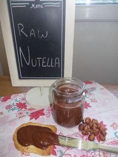 Nutella (roh, vegan, glutenfrei)