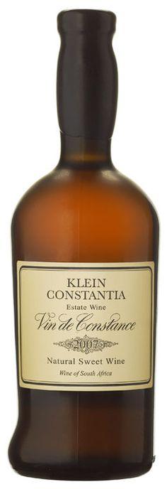 Klein Constantia Vin de Constance - Heaven in a bottle!