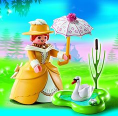 Amazon.com: PLAYMOBIL Victorian Lady with Pond Playset: Toys & Games