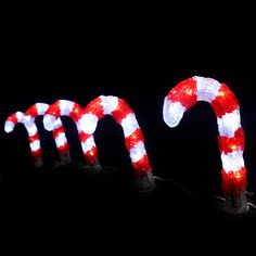 Red and white candy cane rope lights best candy 2018 candy cane rope light red white le incredible christmas outdoor decorations with santa figure ornaments mozeypictures Gallery