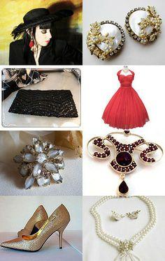 --Pinned with TreasuryPin.com https://www.etsy.com/treasury/MzIwMzIwODV8MjcyMjcxMjYwMw/vintage-holiday-elegance