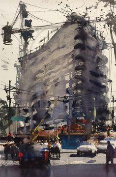 Alvaro Castagnet Dallas Texas 2016 Painting