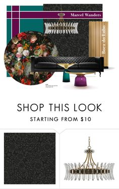 """""""Eden Queen rug..."""" by gloriettequartet ❤ liked on Polyvore featuring interior, interiors, interior design, home, home decor, interior decorating, Graham & Brown, Moooi and ClassiCon"""
