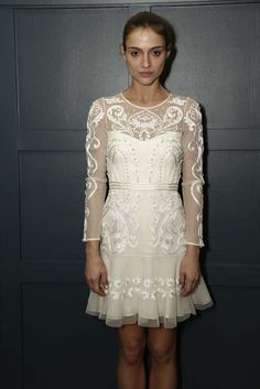 Temperley Bridal Fall 2015